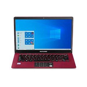Notebook Legacy Cloud 2Gb 64Gb Windows 10 PC135 Vermelho - Multilaser