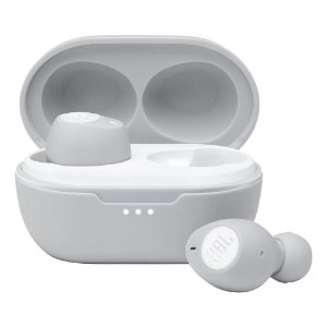 Fone de Ouvido JBL Bluetooth Tune115 Tws Com Microfone JBLT115TWSWHT Branco - JBL