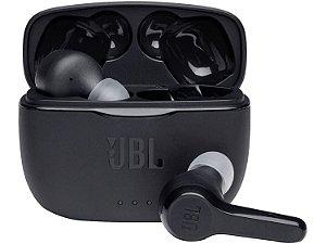 Fone de Ouvido JBL Bluetooth Tune 215 True Wireless Bateria para 5 Horas - Preto