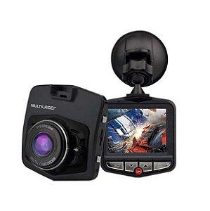 """Câmera Veicular Dvr Fit AU021 Full HD 1080p 2.2"""" Usb Sensor de Movimento e Visão Noturna - Multilaser"""