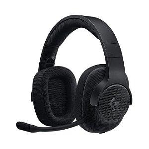 Headset Gamer Logitech G433 Com Microfone Conector P2 e Usb  Preto - Logitech
