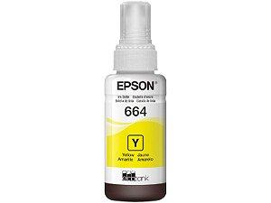 Refil De Tinta Para Ecotank T664420-AL Amarelo - Epson