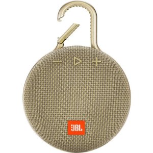 Caixa De Som Clip 3 Portátil A Prova D`água Ipx 7 Dourado - JBL