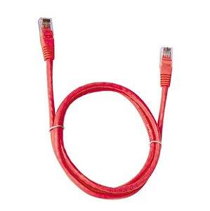Cabo de Rede CAT6E 5 Metros PC-ETH6U50RD Vermelho - Plus Cable