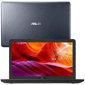 Notebook Asus Dual Core 4Gb 500Gb Tela 15.6Pol Windows10 X543MA-GQ1300T Cinza - Asus