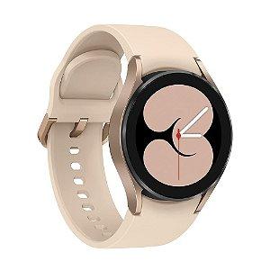 Relógio Smartwatch Galaxy Watch4 40mm SM-R865FZDPZTO Ouro Rosé - Samsung