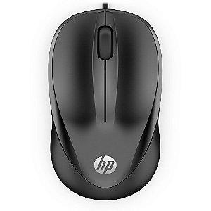 Mouse Óptico HP 1000 1200Dpi Com Fio Dpi 4QM14AA Preto - HP