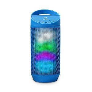 Caixa de Som Portátil Bluetooth Beat SP-B50BL Azul - C3Tech