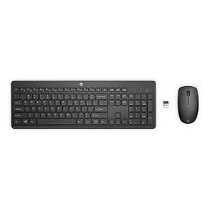 Kit Teclado Com Mouse Sem Fio 230 18H24AA#AC4 Preto - HP