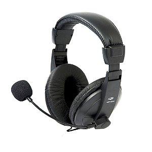 Headset C3tech Com Microfone Voicer Comfort PH-60BK Preto - C3tech