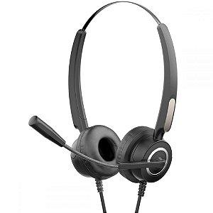 Headset Fone de Ouvido Com Microfone Usb DHE-8000 Preto - HP