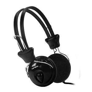 Headset Fone Com Microfone Tricerix ll PH-80BK Preto - C3Tech