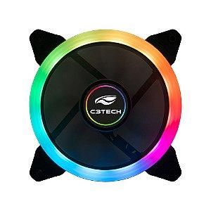 Cooler Fan C3Tech Rgb F7-L210RGB 12CM - C3Tech