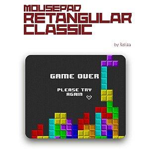Mousepad retangular  Classic Tetris- Reliza