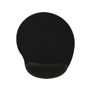 Mousepad Ergonômico Preto - Reliza