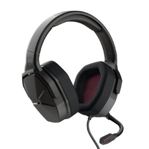 Headset Gamer Ward 50mm Microfone Flexível Preto GXT 4371 - 23799 - Trust