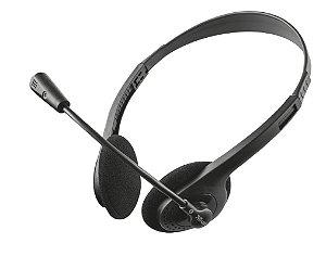 Headset Primo Chat Stereo com Microfone Flexível e Ajustável 11916 - Trust