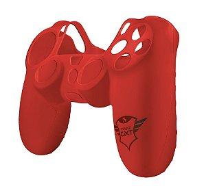 Capa para Joystick GXT 744R PS4 de Silicone - Vermelho - 21214 - Trust