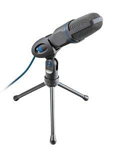 Microfone Mico USB Ajustável com Tripé e Cabo - 23790 - Trust