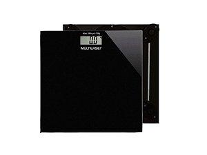 Balança Digital Multilaser Digi-Health HC022 - Preta - Multilaser