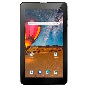 Tablet Multilaser - M7 3G Plus - Faz Ligações 3G 16GB Tela de 7 Preto - NB304 - Multilaser