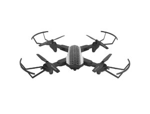 Drone Shark ES177 com Câmera HD Com Controle Remoto Alcance de 80mt FPV Preto - Multilaser