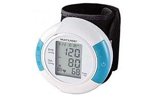 Monitor de Pressão Arterial Digital de Pulso  HC075 -Multilaser
