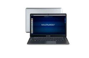 Notebook Multilaser PC231 Legacy Book Intel Celeron 4GB 500GB 14.1'' Linux Cinza - Multilaser