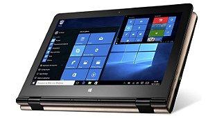 Notebook Multilaser, M11W ,2GB RAM, WIN10 32GB ,Quad 11,6 Polegadas NB259 Dourado - Multilaser