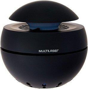 Purificador de Ar Multilaser Clean Air com 2 Estágios de Filtração Entrada USB Preto HC156 - Multilaser