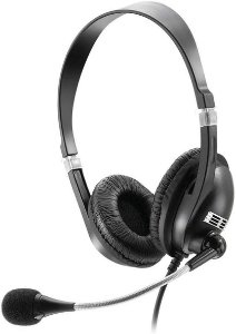 Headset Multilaser Premium Acoustic Preto Ps2 PH041 - Multilaser