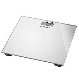 Balança Digital Multilaser Digi-Health HC021 Prata - Multilaser
