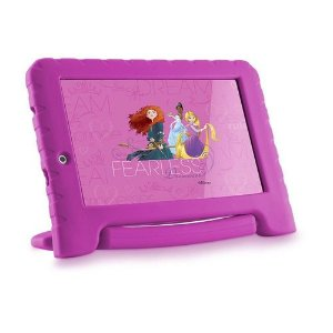 Tablet Multilaser Disney Princesas Plus, Bluetooth, Android 8.1, 16GB, 7´ - NB308 - Multilaser