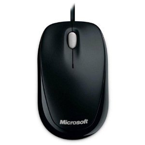 Mouse USB Microsoft Compact 500 Preto U81-00010 - Microsoft