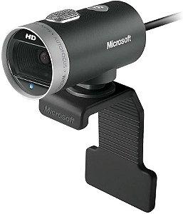 Webcam Microsoft LifeCam Cinema Usb Preta H5D-00013 - Microsoft