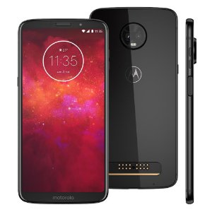Smartphone Motorola Moto Z3 Play XT1929 Onix 128GB Dual Chip - Motorola