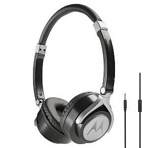 Fone de ouvido Motorola Pulse 2 com microfone Preto - Motorola