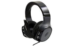 Headset Wild HS411 Multiplataforma Com Microfone Preto e Cinza - Oex