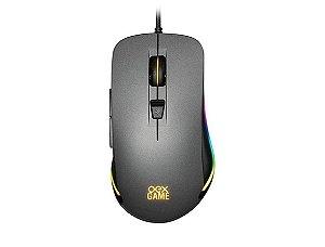 Mouse Gamer Cronos MS320 Usb  Cinza - Oex