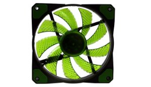 Cooler Fan F20 16 Leds  Verde - Oex