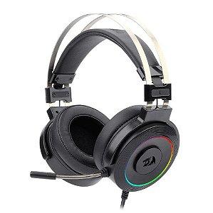 Headset Gamer Redragon Lamia 2 Drivers 40mm RGB Surround Preto H320RGB 1 - Redragon