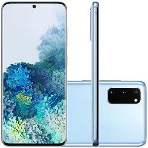 Smartphone Samsung Galaxy S20, 128GB, 64MP, Tela 6.2´, Cloud Blue - SAMSUNG