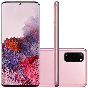 Smartphone Samsung Galaxy S20, 128GB, 64MP, Tela 6.2´, Cloud Pink - SAMSUNG