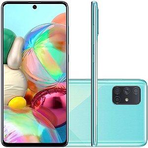 Smartphone Samsung Galaxy A71, 128GB, 64MP, Tela 6.7´, Azul - SAMSUNG