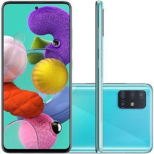 Smartphone Samsung Galaxy A51, 128GB, 48MP, Tela 6.5´, TV Digital, Azul - SAMSUNG