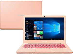 Notebook Samsung Flash F30 Intel® Celeron N4000, 4GB, 64GB SSD, 13.3'' Full HD LED, Windows 10 Home, Rosa - Samsung