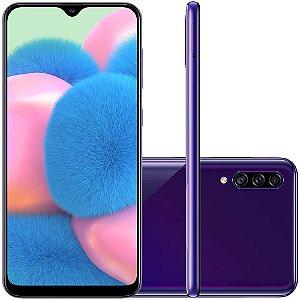 Smartphone Samsung Galaxy A30s, 64GB, 25MP, Tela 6.4´, TV Digital, Violeta - SAMSUNG