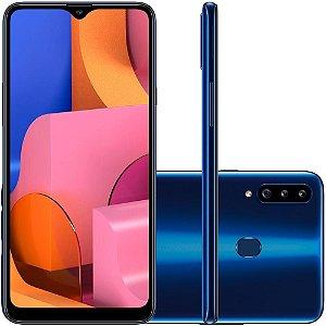 Smartphone Samsung Galaxy A20s, 32GB, 13MP, Tela 6.5´, Azul - SAMSUNG