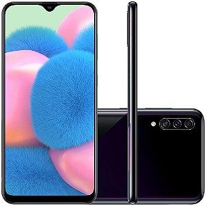 Smartphone Samsung Galaxy A30s, 64GB, 25MP, Tela 6.4´, TV Digital, Preto - SAMSUNG