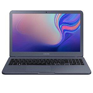 Notebook Samsung Essentials E20, Intel Celeron 4205U, 4GB, HD 500GB, Windows 10 Home, 15.6´, Titânio Metálico - SAMSUNG